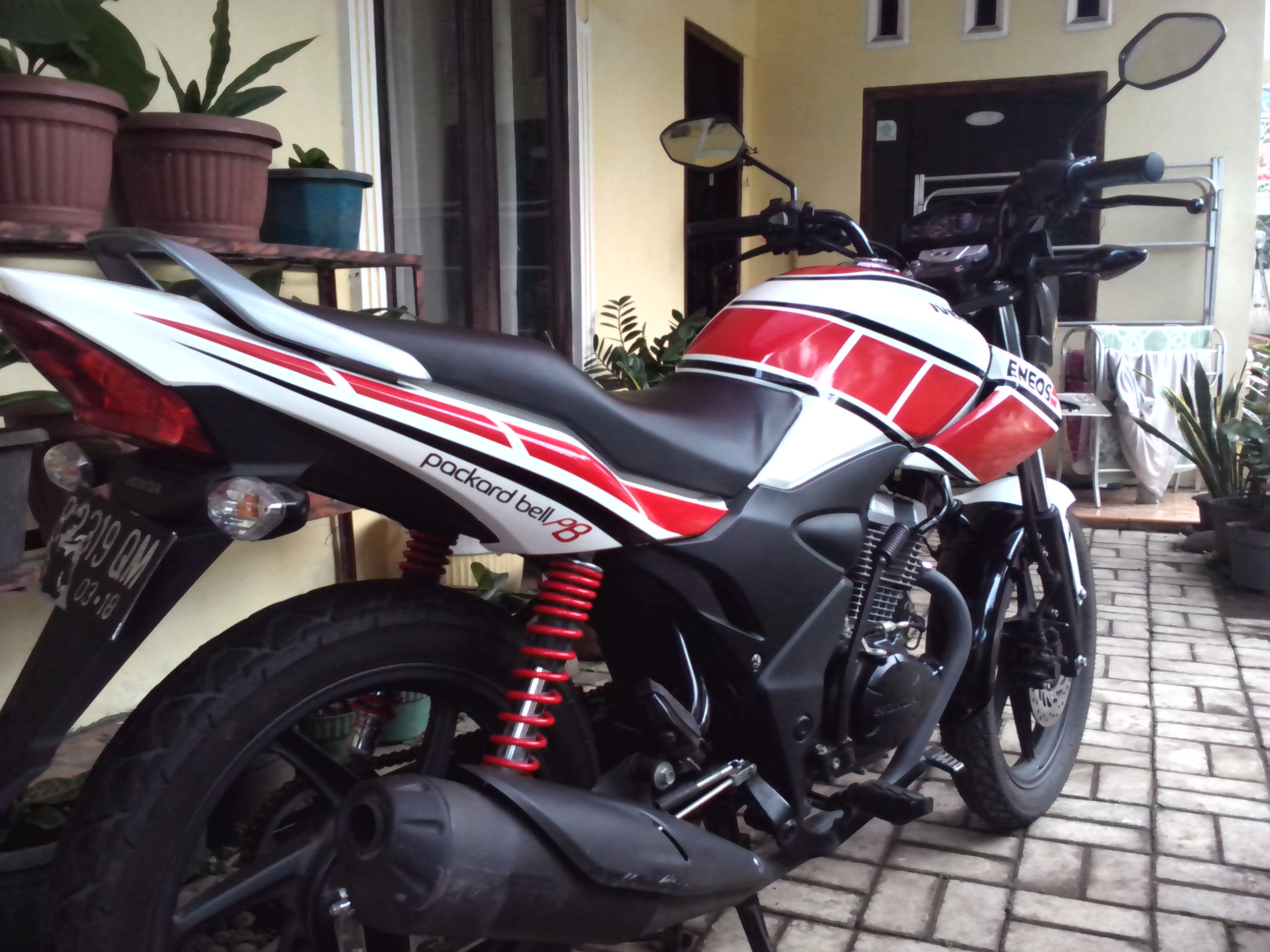 Honda Verza Cutting Sticker Yamaha 50th Aniversary Selesai
