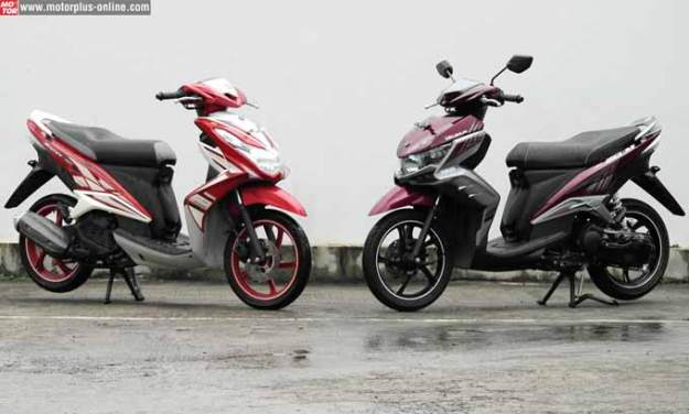 Xeon RC dan GT 125, Basis Mesin Sama!