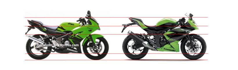 Ninja 150 RR vs Ninja 250 RR Mono