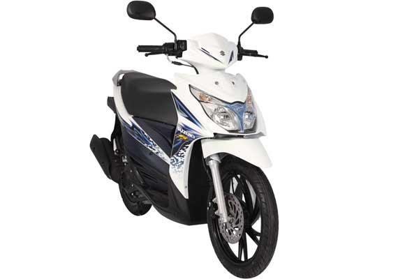 Suzuki Hayate Injeksi Filipina
