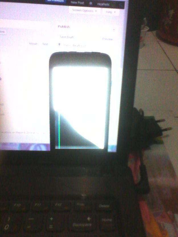 LCD Pecyah!