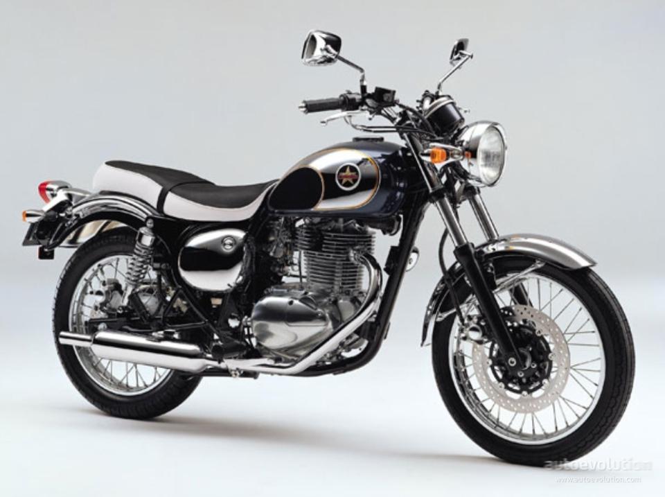 Kawasaki Estrella Modif
