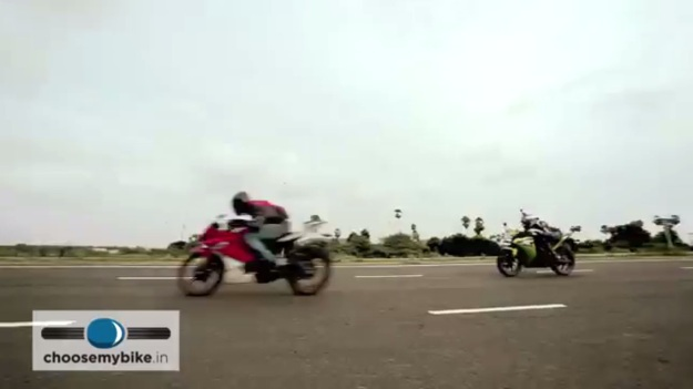 R15 VS CBR 150 Middle Race Rezaholic